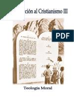 Introducción Al Cristianismo III (Moral)