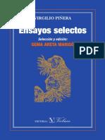 Piñera, Ensayos selectos