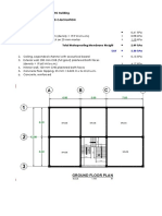 SEISMIC DESIGN OF A 3-STOREY BUILDING