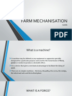 farm mechanisation- updated