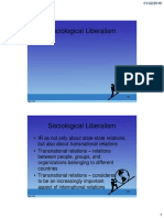 PS322 - IR - ch04part2 - Sociological Liberalism