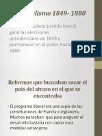El liberalismo 1849- 1880.pptx