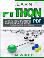Learn Python_ The Ultimate Begi - Tim Wired
