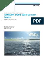 NORSOK Well System Loads DNV 2014-0783 rev0