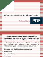 Aspectos bioeticos do inicio da vida