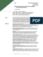 G7M-0670-00 - OFF-LINE MAINTENANCE & ACCEPTANCE TESTING PROCEDURES FOR SYNCHRONOUS MOTORS