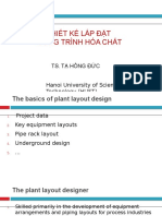 C1 The basic of plant layout design - Process plant layout and piping design