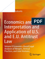 Richard S. Markovits (auth.)-Economics and the Interpretation and Application of U.S. and E.U. Antitrust Law_ Volume II Economics-Based Legal Analyses of Mergers_ Vertical Practices_ and Joint Venture.pdf
