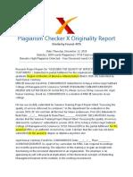 ARPITDOCPCX - Report