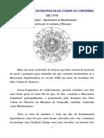 CATECISMO DOS FILÓSOFOS ELUS COHEN DO UNIVERSO.pdf