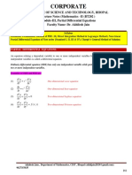 Mathematics-ii(M2) for RGPV Bhopal By Dr. Akhilesh Jain ,  Unit 3 Partial Differential equation