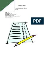 Plan de Lectie Test(1)