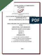 DINAMICA DE CUENTAS-CONTABILIDAD I