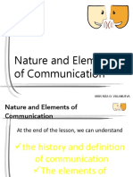 Nature-and-Elements-of-Communciation