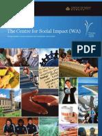 Grad Certificate Social Impact