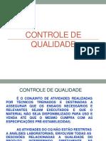 controle_qualidade - padroes e testes