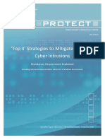 Au DoD DSD - Strategies to Mitigate Targeted Cyber Intrusions - Mandatory Requirements (2013-07)