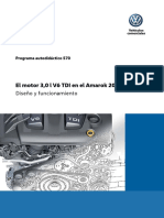570 - El motor 3,0 l V6 TDI en el Amarok 2017