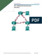 P#7-8.2.4.5 Lab - Configuring Basic Single-Area OSPFv2