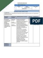 PlanificaciónTecnología 1°Medio-UNIDAD 3 2019
