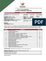 Guía de Clase - Diseño y Mantenimiento de Planta - WJabba - Grupo AN - I-15
