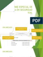 ELABORACION DEL INFORME ESPECIAL DE SEGURIDAD VIAL