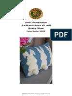 Bunny Pillow (Crochet)