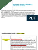 1° A Planificacion anual UNIDAD PEDAGOGICA editable
