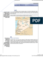 Oil & Gas Country Analysis Briefs - Syria