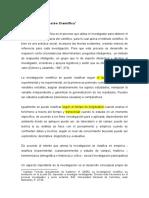 1 -LECTURA NO.1 METODO E INVESTIGACION CIENTIFICA