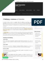 El Bullying o matoneo en Colombia – Colombia Legal Corporation.pdf