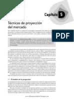 Semana 3 - Cap 5 Técnicas de proyección del mercado.pdf