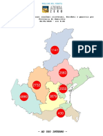 Mappa dei contagi comune per comune