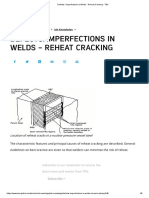 Defects _ Imperfections in Welds - Reheat Cracking - TWI