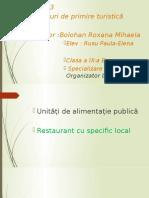 Unități de alimentație publică