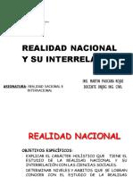 SEMANA 3 CONOCIMIENTO DE LA REALIDAD NACIONAL UNJBG