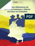 Defensores CIDH Colombia