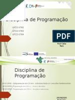 00-Disciplina de Programação apresentação.pptx