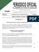 Periódico Oficial Guanajuato 4 de mayo