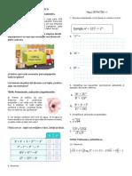 Glosario matemático