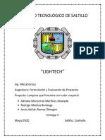 Entrega 3 - Formulación(LAMPARA).