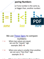 Comparing Numbers PPT