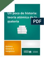 Un poco de historia_teoría de atómica de la materia