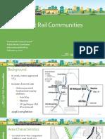East/West Corridor Station Planning Presentation