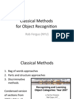 02 - ICCV2009_classical_methods - Bag of Words Models - Part-Based Models - And Discriminative Models