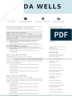 1-Page Resume Template_US
