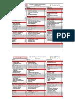 Formato CheckList