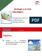 1. Hidrología y el ciclo hidrológico - B