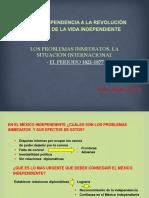 - EL PERIODO 1821-1877