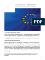 pda.org-Draft Annex 1 Separates Cleaning and Disinfection